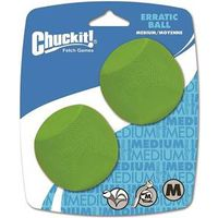 BALL PET ERRATIC MEDIUM 2PK