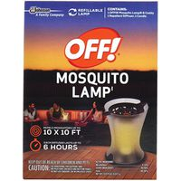 SC Johnson 76087 Mosquito Repellent Lamp