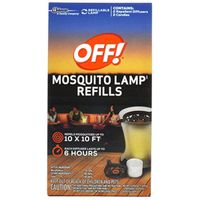 SC Johnson 76086 Mosquito Repellent Lamp Refill