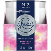 CANDLE SWEETPEA/PEAR NO2 4.2OZ