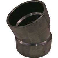 Genova Products 80830 ABS-DWV 22-1/2 Degree Elbow