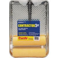Purdy 810200 Contractor 1St Paint Roller And Tray Sets