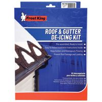 Frost King RC Roof De-Icing Cable With Shingle Clips