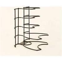 ORGANIZER PAN BRUSHED WIRE BLK