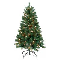 TREE 4.5FT PRELIT NOBLE FIR