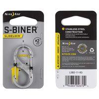 S-BINER SLIDLOCK STNLS STL NO2