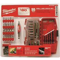DRILL/DRIVER SET 55PC