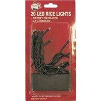LIGHT STRING LED RICE CLEAR