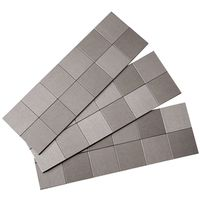Aspect A94-50 Square Matted Peel and Stick Wall Tile