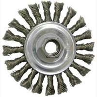 Weiler 36055 Coarse Grade Medium Face Knot Wire Wheel Brush
