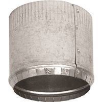 Imperial GV0843 Round Start Small End Stove Pipe Collar with Crimped