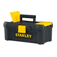 TOOLBOX W/PLASTIC LATCH 12.5IN