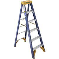 Werner Old Blue Single Sided Step Ladder