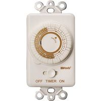 Woods 59745 In-Wall Programmable Mechanical Timer