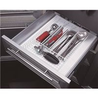 Homebasix JI-18W-3L Silverware Storage Tray