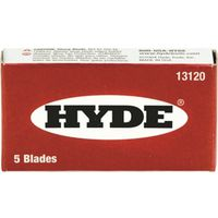 Hyde 13120 Single Edge Razor Blade