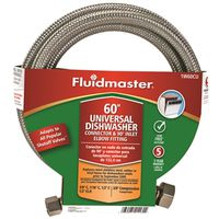 Fluidmaster 1W60CU Braided Dishwasher Connector