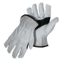 GLOVES DRIVER SPLIT COWHIDE L