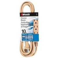 Coleman 2865 SJT 3-Outlet Power Tap Extension Cord