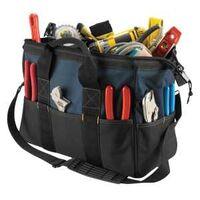 TOOL BAG 22POCKET 16IN OPENING
