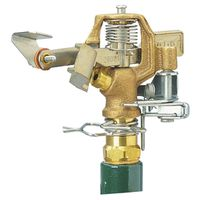 WaterMaster 55032 Fixed Impact Sprinkler With Single Nozzle