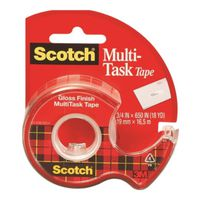 KIT 25 CRYS CLEAR TAPE 3/4X650