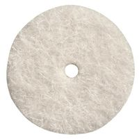 WHEEL POLISHING FELT 1IN