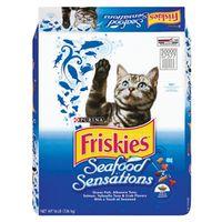 Friskies Seafood Sensations 5000057577 Dry Cat Food
