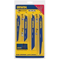 Irwin 4935496 Bi-Metal Reciprocating Saw Blade Set