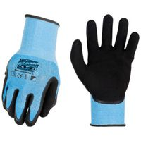 GLOVES WORK BLUE LARGE/X-LARGE