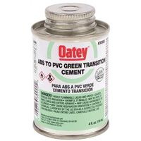 Oatey 30900 ABS/PVC Transition Cement