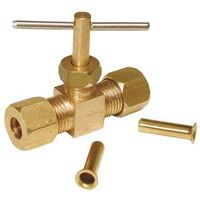 Dial 9406 Straight Compression Needle Valve