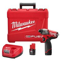 Milwaukee M12 Cordless Impact Driver Kit