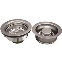 PlumbPak K5475 Sink Basket Strainer Assembly With Fixed Post