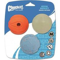 BALL PET FETCH MEDIUM 3PK