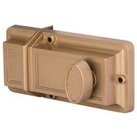 RIM DEADLOCK 1IN HARD DEADBOLT