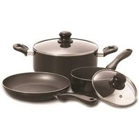 COOKWARE SET 5PIECE BLACK