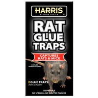 TRAP GLUE RAT PLASTIC 2PK