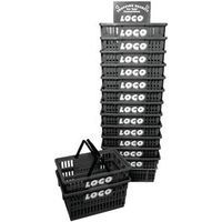 Bigbasketco BIG Basket With Rack 10.3 in H x 13.3 in W x 19-1/2 in D