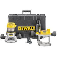 Dewalt DW616PK Fixed Base Corded Router Kit