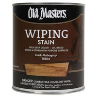 Old Masters 11804 Oil Based Wiping Stain