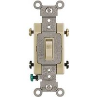 Leviton 54522-2I Framed Grounded Toggle Switch