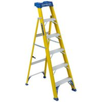 LADDER CROSS STEP FBRGLS 6FT