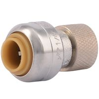 Cash Acme U3523LFA Push Fit Tube Adapter