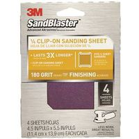 SandBlaster 9662 Clip-On Palm Sanding Sheet