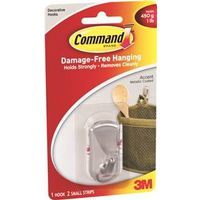 Command 17072BN Accent Hook