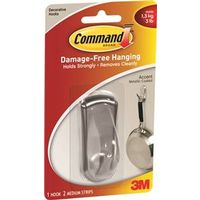 Command 17071BN Medium Accent Hook