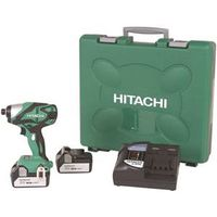 Hitachi WH18DSDL Brushless Cordless Impact Driver Kit