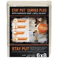 CANVAS W/ ANTI-SLIP/SPILL 6X8