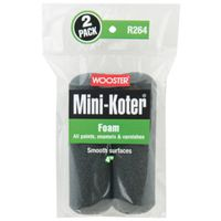 ROLLER PAINT MINI FOAM 4IN 2PK